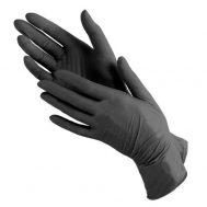 Перчатки нитриловые черные (уп. 50 пар)