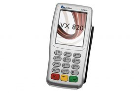 Пин-пад Verifone Vx820 CTLS (без кабеля USB)
