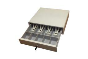 Денежный ящик без э/механического замка (белый)