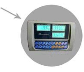 Напольные весы ВЭТ-300-1С-АБ/450х600