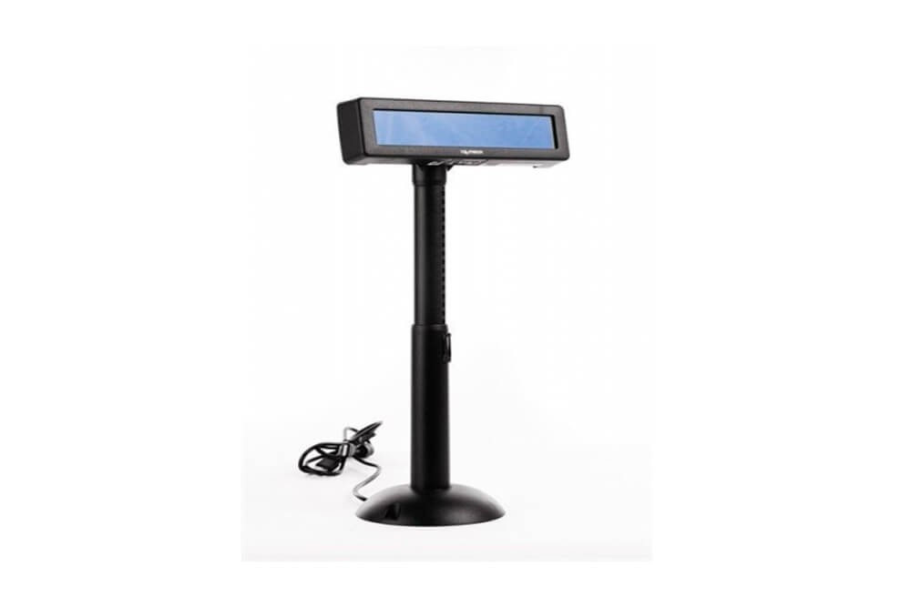 Дисплей покупателя Posiflex PD-2800B USB черный