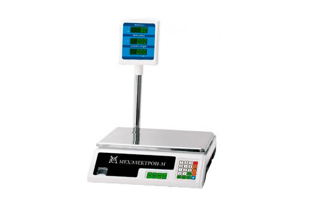 Торговые весы Мехэлектрон ВР 4900-15-2/5САБ-05