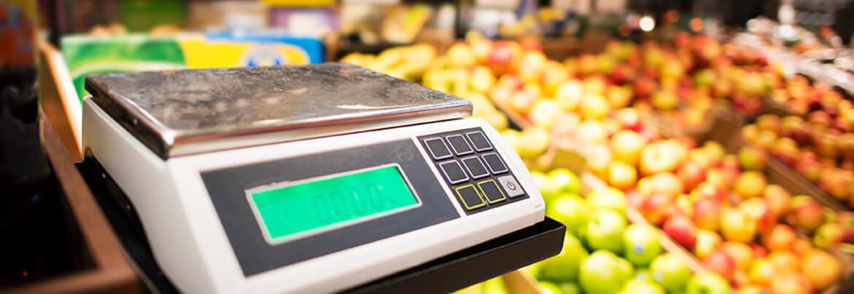 торговые весы с дисплеем